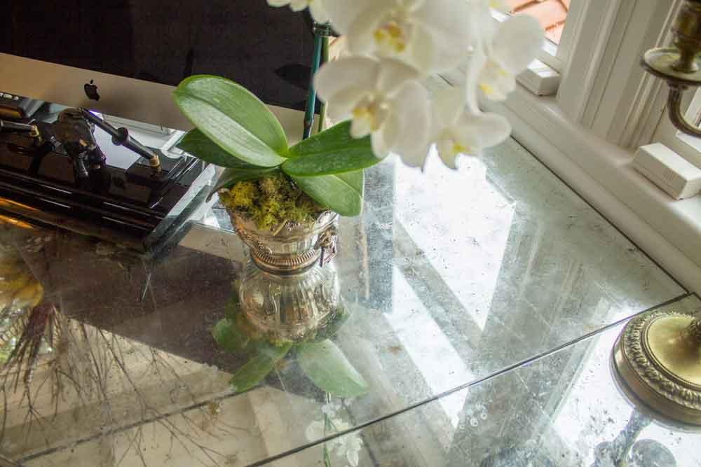 Custom Mirrored Table Top